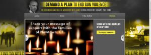 demand a plan to end gun violence
